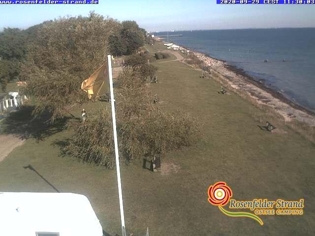 Webcam FKK Camping Rosenfelder Strand
