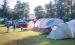Spielende Kinder auf Campingplatz