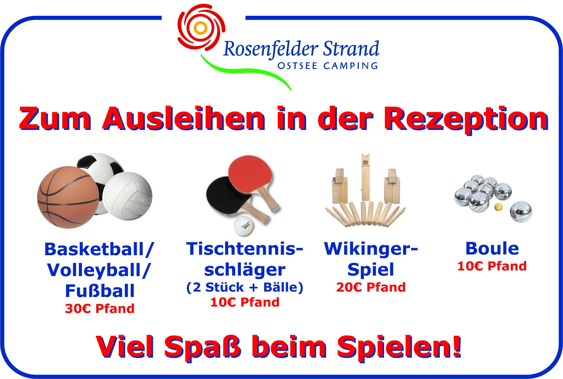 Ongoing events ~ Rosenfelder Strand