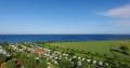 Campingplatz und Ostsee von oben