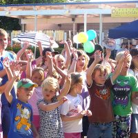 Kinder bei der Kinderdisco